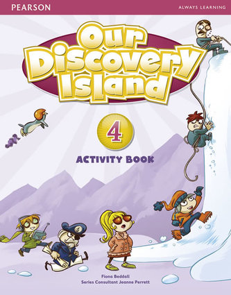 Our Discovery Island 4 Activity Book and CD ROM (Pupil) Pack - Beddall Fiona