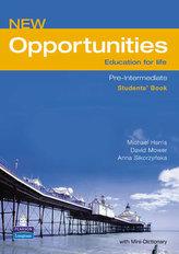 New Opportunities Global Pre-Intermediate Students´ Book NE