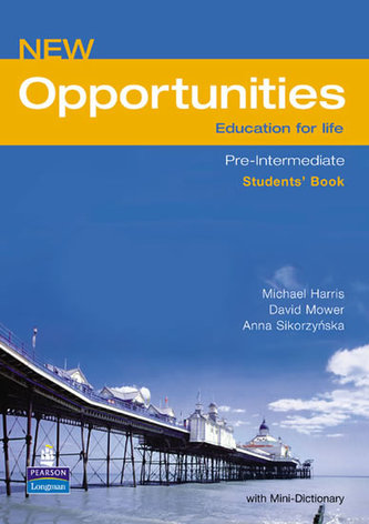 New Opportunities Global Pre-Intermediate Students´ Book NE - Harris, Michael; Mower, David