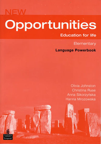New Opportunities Global Elementary Language Powerbook Pack - Johnston Olivia