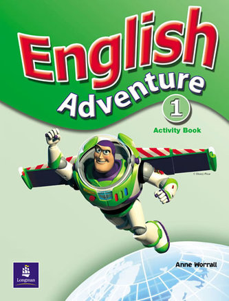 English Adventure Level 1 Activity Book - Worrall Anne