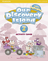 Our Discovery Island  2 Activity Book and CD ROM (Pupil) Pack