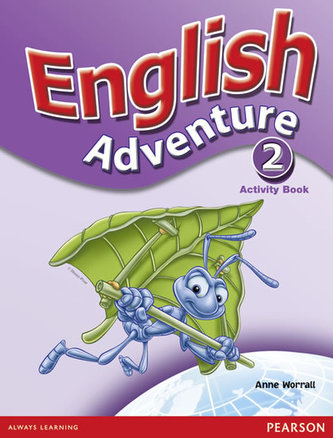 English Adventure Level 2 Activity Book - Worrall Anne