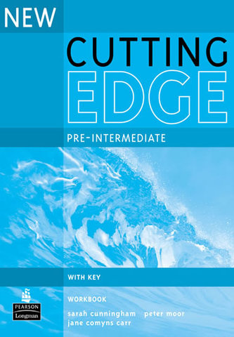 New Cutting Edge Pre-Intermediate Workbook with Key - Cunningham, Sarah
