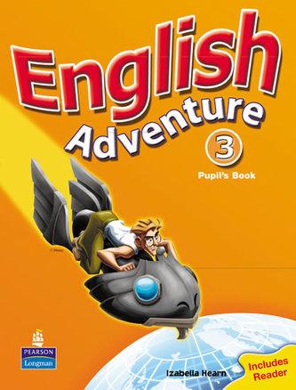 English Adventure Level 3 Pupils Book plus Reader - Hearn Izabella