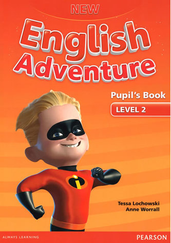 New English Adventure 2 Pupil´s Book and DVD Pack - Worrall Anne