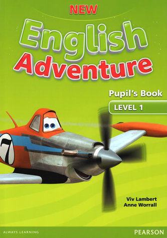 New English Adventure 1 Pupil´s Book and DVD Pack - Worrall Anne