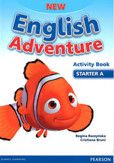 New English Adventure Starter A Activity book + Song CD