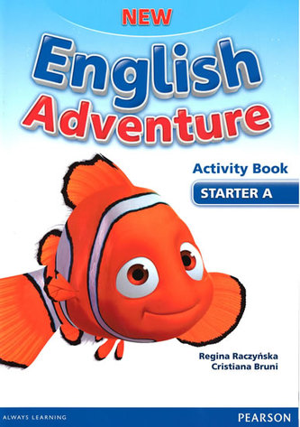 New English Adventure Starter A Activity book + Song CD - Worrall Anne