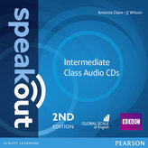Speakout Intermediate 2nd Edition Class CDs (2)