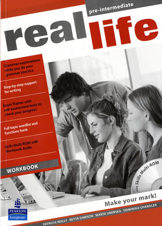 Real Life Global Pre-Intermediate Workbook & Multi-ROM Pack - Reilly, Patricia