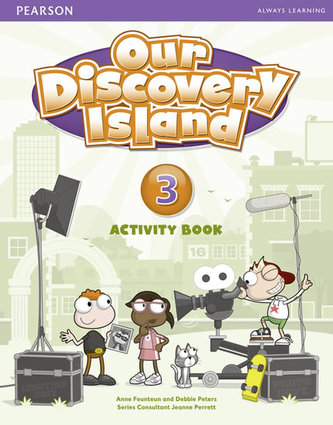 Our Discovery Island 3 Activity Book and CD ROM (Pupil) Pack - Peters Debie