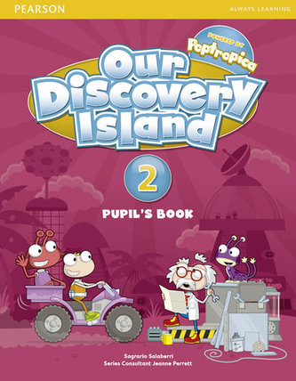 Our Discovery Island 2 Student´s Book plus pin code - Burnford Sheila