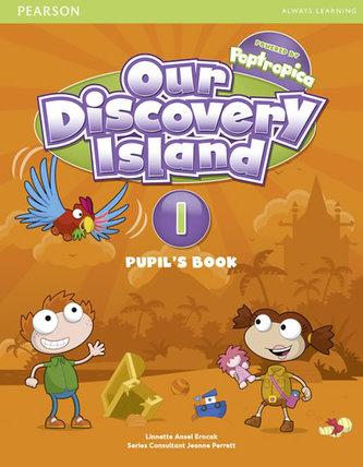 Our Discovery Island 1 Student´s Book plus pin code - Linnette Ansel Erocak, Regina Raczyńska