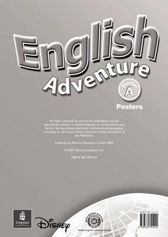 English Adventure Starter A Posters - Lochowski Tessa, Bruni Cristiana