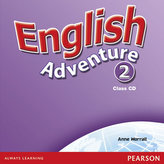 English Adventure Level 2 Class CD