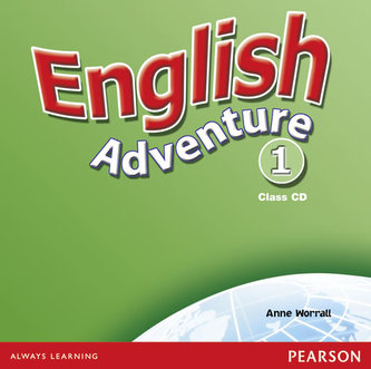 English Adventure Level 1 Class CD - Worrall Anne