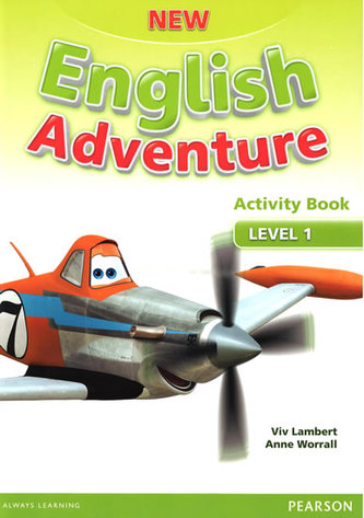 New English Adventure 1 Activity Book and Song CD Pack - Worrall Anne