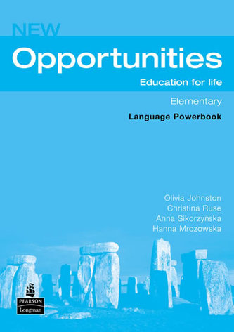 New Opportunities Elementary Language Powerbook - Johnston Olivia