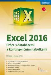 Excel 2016 - Práce s databázemi a kontingenčními tabulkami