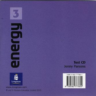 Energy 3 Test CD - Pearson Jenny