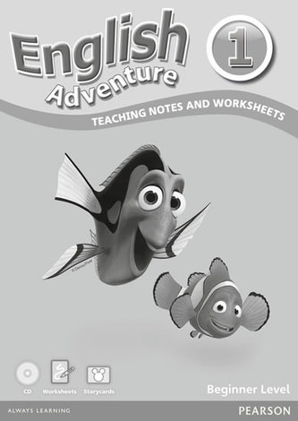 English Adventure 1: Teaching notes and Worksheets Beginner Level Pack (WB + Audio CD + Cards) - Tessa Lochowski