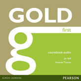Gold First Coursebook Audio CDs