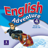 English Adventure 4 Songs CD