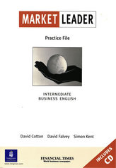 Market Leader: Intermediate Practice File Book and CD Pack