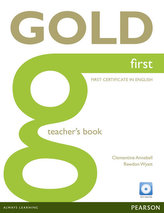Gold First Teacher´s Book with Test Master CD-ROM Pack
