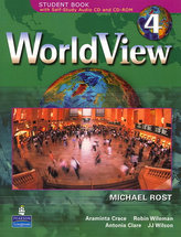 WorldView 4 with Self-Study Audio CD and CD-ROM Class Audio CD´s (3)
