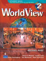 WorldView 2 with Self-Study Audio CD and CD-ROM Class Audio CD´s (3)