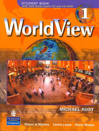 WorldView 1 with Self-Study Audio CD and CD-ROM Classroom Audio CDs (3) - Drosten Michaela