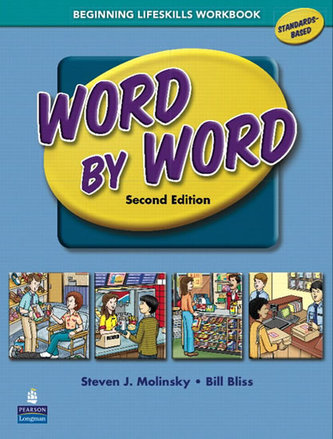 Word by Word Picture Dictionary with WordSongs Music CD Beginning Lifeskills Workbook - Bliss Bill