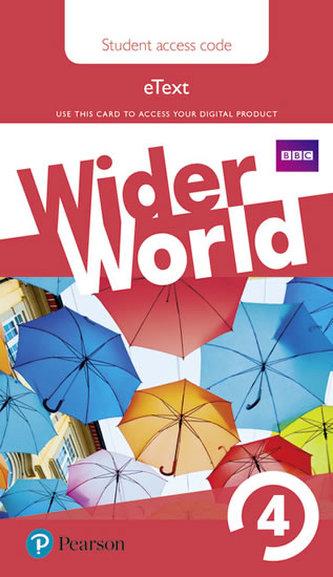 Wider World 4 eBook Students´ Access Card - neuveden