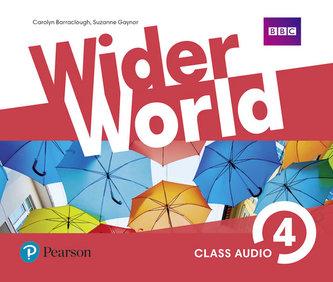 Wider World 4 Class Audio CDs - neuveden