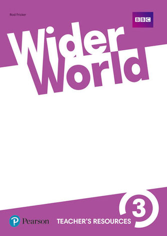 Wider World 3 Teacher´s Resource Book - Fricker Rod