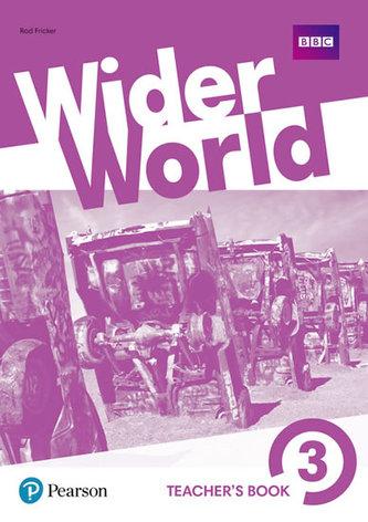 Wider World 3 Teacher´s Book with DVD-ROM Pack - Fricker Rod