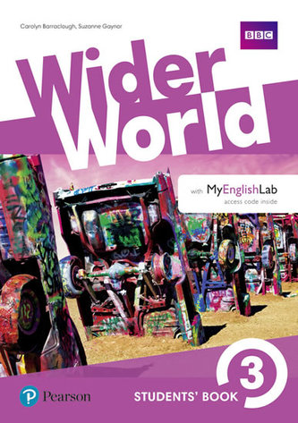 Wider World 3 Students´ Book with MyEnglishLab Pack
