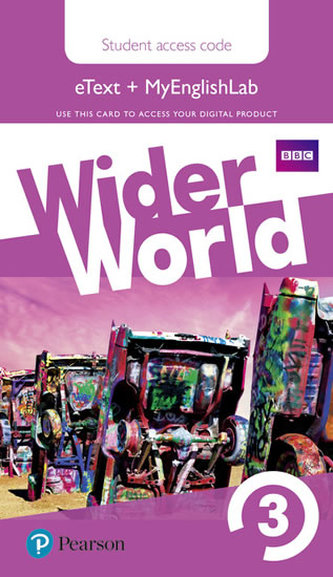 Wider World 3 MyEnglishLab & eBook Students´ Access Card - neuveden
