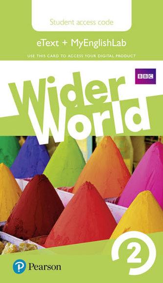 Wider World 2 MyEnglishLab & eBook Students´ Access Card - neuveden