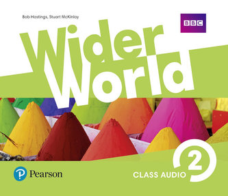 Wider World 2 Class Audio CDs - neuveden