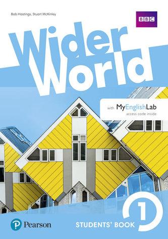 Wider World 1 Students´ Book with MyEnglishLab Pack - Marta Umińska, Bob Hastings, Dominika Chandler, Hanna Mrozowska