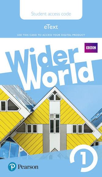 Wider World 1 eBook Students´ Access Card - neuveden