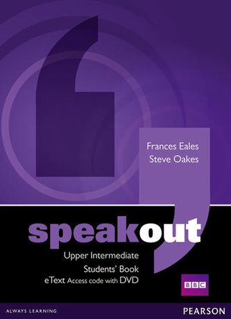 Speakout Upper Intermediate Students´ Book eText Access Card with DVD - Eales Frances, Oakes Steve