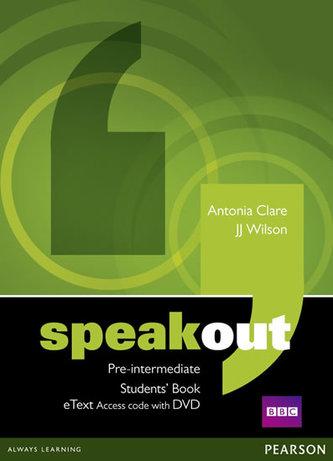 Speakout Pre-Intermediate Students´ Book eText Access Card with DVD - Alan J. Wilson a kol.