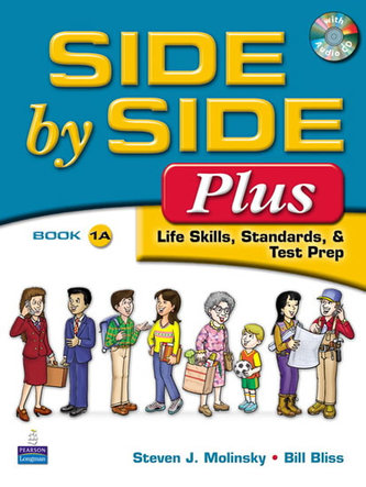 Side by Side Plus 1 Student Book A (with Gazette Audio CD) - Molinsky Steven J.