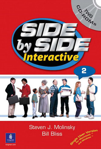 Side by Side Interactive 2, without Civics/Lifeskills (2 CD-ROMs) - Molinsky Steven J.