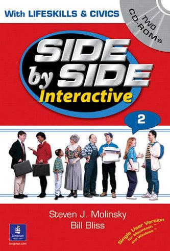 Side by Side Interactive 2, with Civics/Lifeskills (2 CD-ROMs) - Molinsky Steven J.