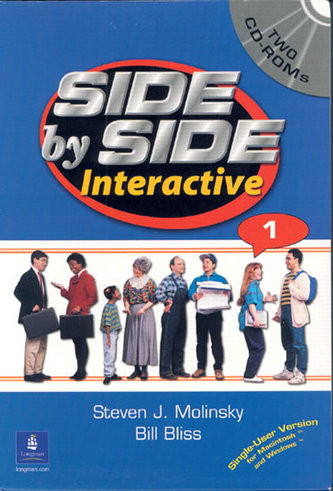 Side by Side Interactive 1, without Civics/Lifeskills (2 CD-ROMs) - Molinsky Steven J.